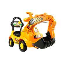 可坐可骑无线儿童玩具大号挖土机