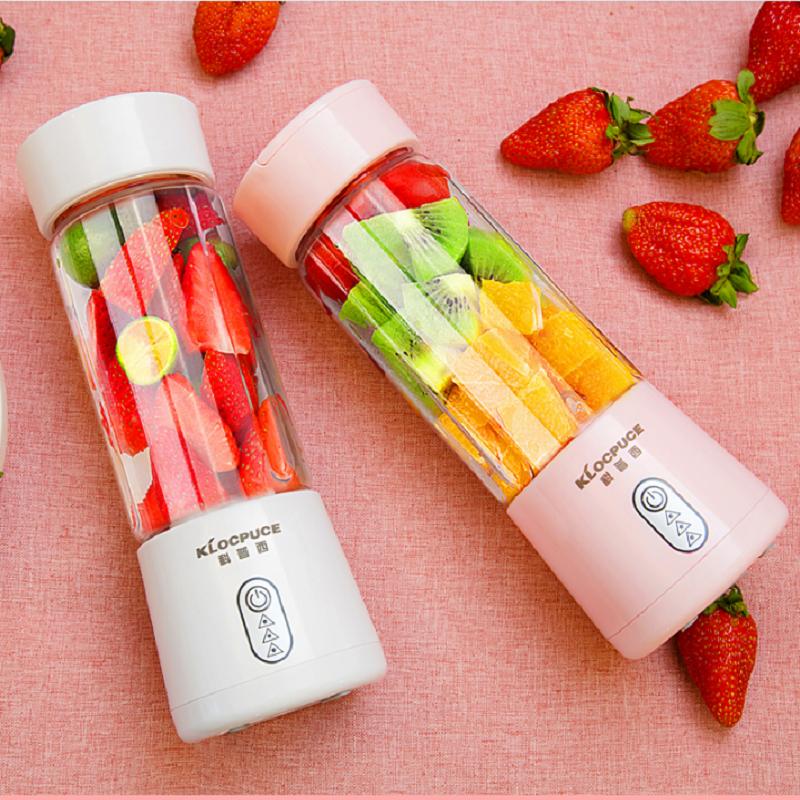科普西K8便携式榨汁机家用水果小型充电动迷你炸果汁机学生榨汁杯