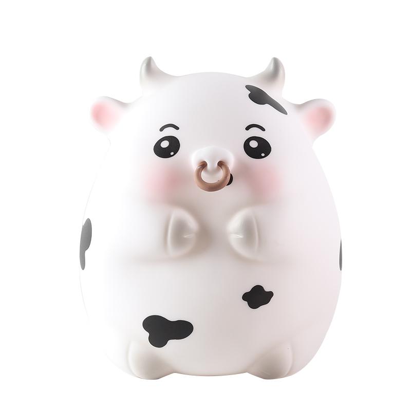 存钱罐牛储钱罐十二生肖不可取只进不出储蓄罐女网红儿童纸币可取
