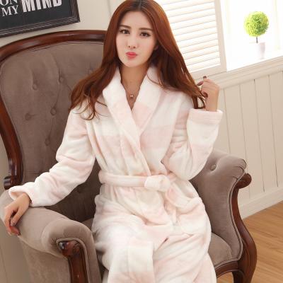 冬季法兰绒珊瑚绒浴袍,最高领50优惠券