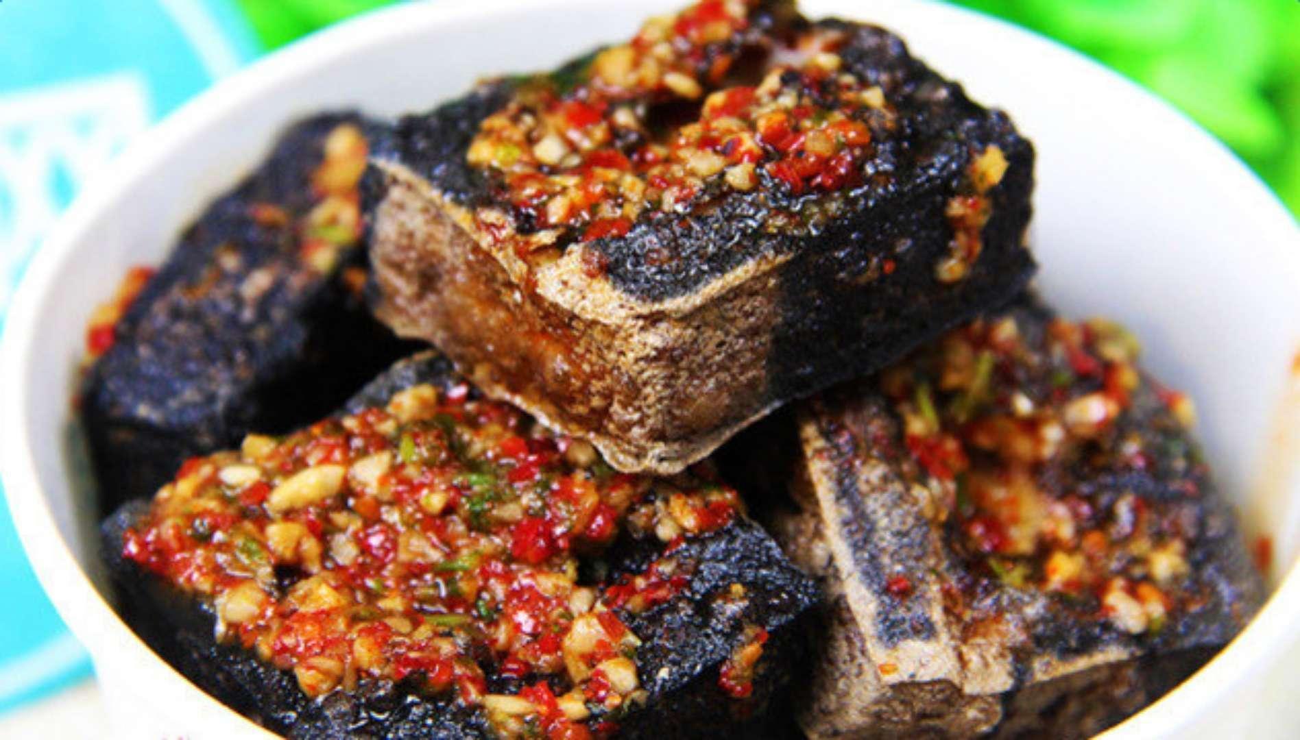 黑色经典臭豆腐,让你享受正宗长沙味17