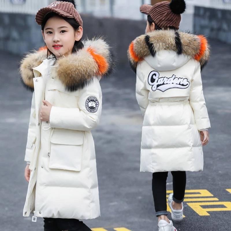 7 nữ lớn trẻ em áo khoác mùa đông áo khoác cotton 8 thời trang trẻ em 10 đệm bông dày 12 học sinh 13 cô gái 15 tuổi