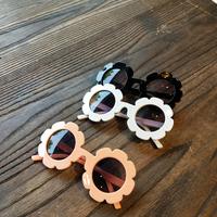 Корейский ins детские чернила зеркало Солнечный цветок глаз зеркало прекрасный детские УФ защита от солнца зеркало мужские и женские детские глаз зеркало
