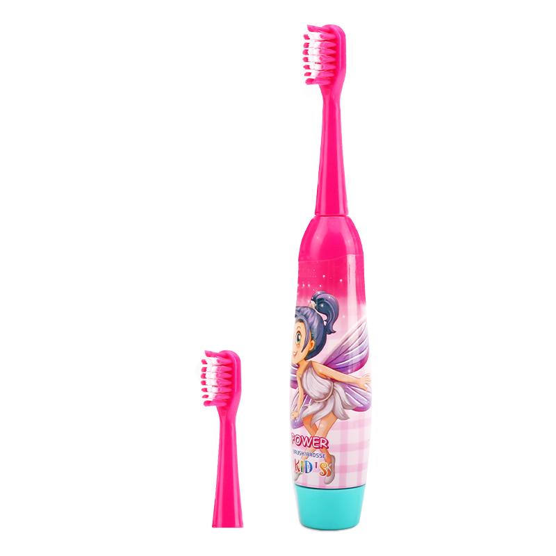 儿童电动牙刷声波震动牙刷3-6-12岁宝宝小孩自动牙刷软毛防水