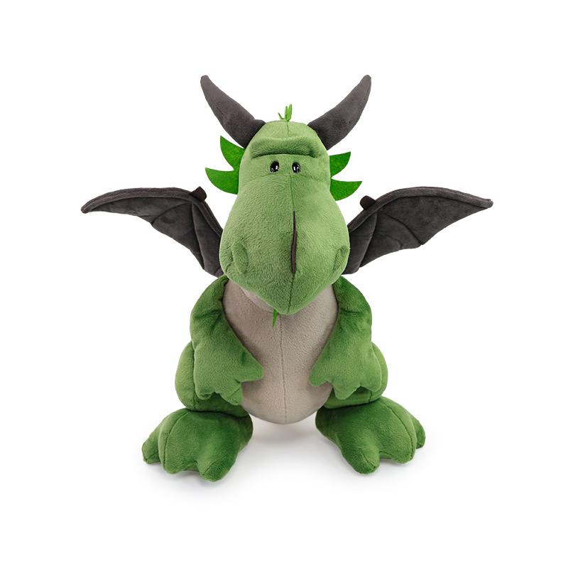 德国NICI绿恐龙公仔绿恐龙索克毛绒玩具睡觉抱枕布娃娃玩偶男礼物