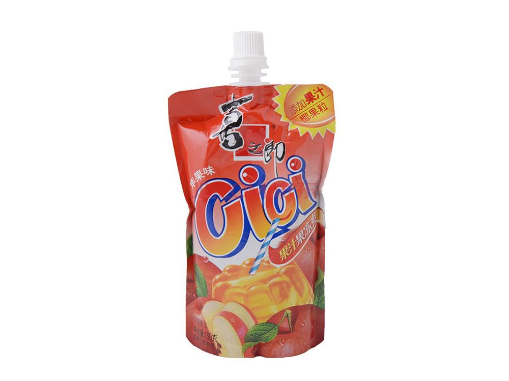 喜之郎果冻爽苹果味150克