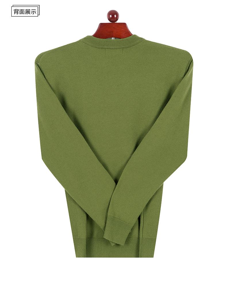 Áo len mùa đông Hengyuanxiang áo len thẳng nam thường xuyên dài tay nam kinh doanh cơ sở kinh doanh áo len - Kéo qua