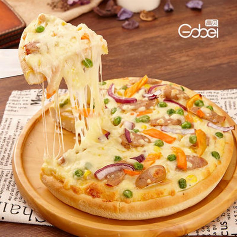 高贝成品披萨饼底胚饼皮9寸家用速冻加热即食半成品烘焙披萨原料