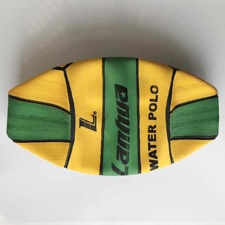 上海兰华 双色专业水球 竞技比赛水球 游泳竞技水上用球 男子216
