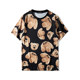 Package mail 20 summer Europe and America cute bear bear round neck men and women loose cartoon Teddy couple short sleeve T-shirt