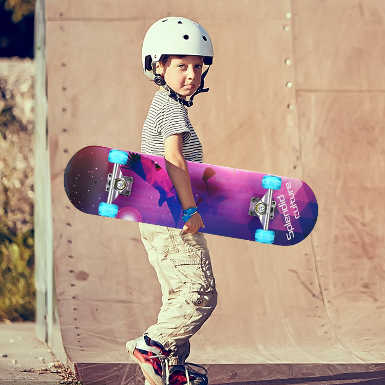 儿童滑板车岁以上初学者小孩四轮滑板男女生宝宝滑板划板详细照片