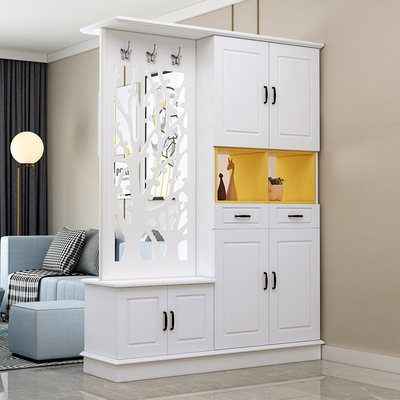 Entrance entrance cabinet entrance hall cabinet modern minimalist wine cabinet double-sided entrance living room screen partition cabinet shoe cabinet decorative cabinet