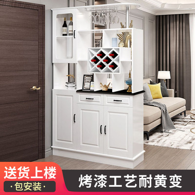 Living room partition cabinet, double-sided wine cabinet, modern minimalist screen decoration cabinet, entrance hall cabinet, shoe cabinet, entrance hall cabinet