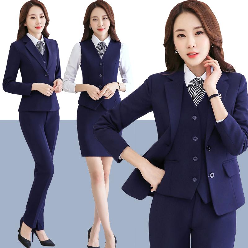 Stewardess Uniforms, Professional Wear, Womenu0027s Suits, Vests, Three Piece  Suits, Long Sleeved Suits, Beauticians, Hotel Front Desk Uniforms