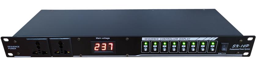 专业电源时序器10路 8路舞台插座顺序控制器