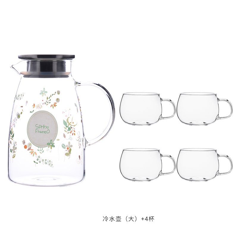 LARGE MUFENG KETTLE 2L+4* LARGE CUP