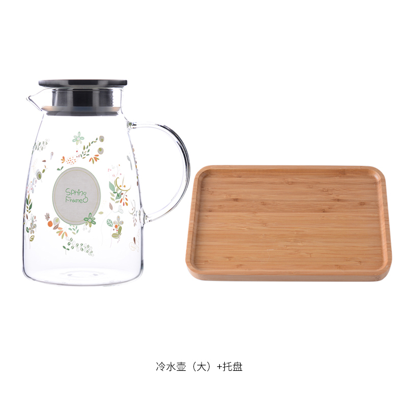 LARGE MUFENG KETTLE 2L+ BAMBOO PLATE