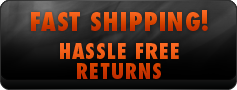 Fast Shipping Hassle Free Returns