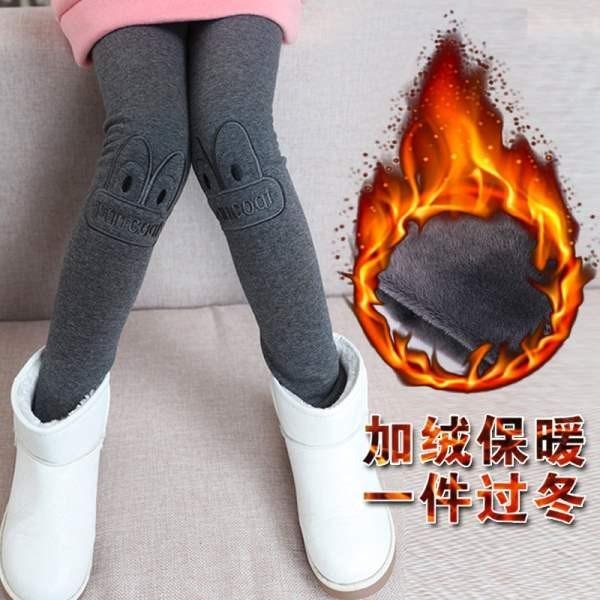 冬天3打底连裤袜子4冬季5加绒加厚6儿童裤7女童8小女孩9修身13岁