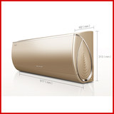 Gree GREE 1-level frequency conversion Run Hui WiFi Wall-mounted warm air conditioning offline