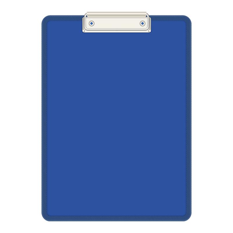 板夹文件夹a4夹板学生用写字垫板办公硬板夹本子画板资料夹试卷夹书夹子考试创意文具用品企业多彩PP定制板夹