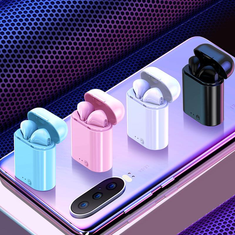 真无线双耳蓝牙耳机运动适用小米oppo华为vivo安卓iPhone通用微小型单耳挂耳式7隐形8入耳马卡龙男女生款可爱