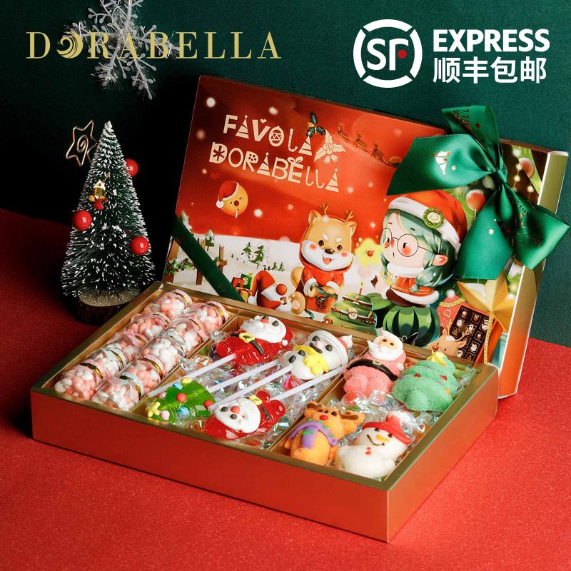 【朵娜贝拉】圣诞节糖果礼盒装
