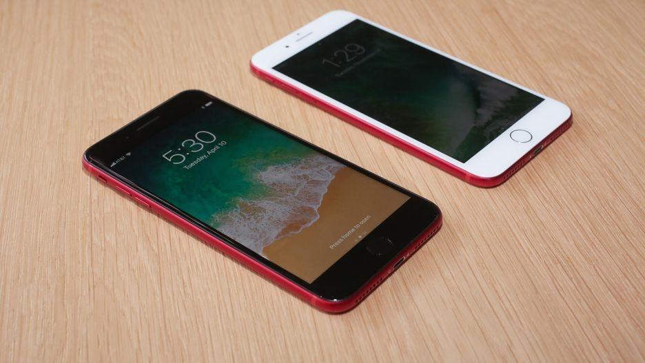 iPhone 8红色版真机上手图赏