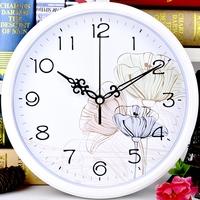 Тихие настенные часы для гостиной офиса поколение Креативные часы круглые часы простые мультяшные настенные диаграммы популярный Кварцевые часы