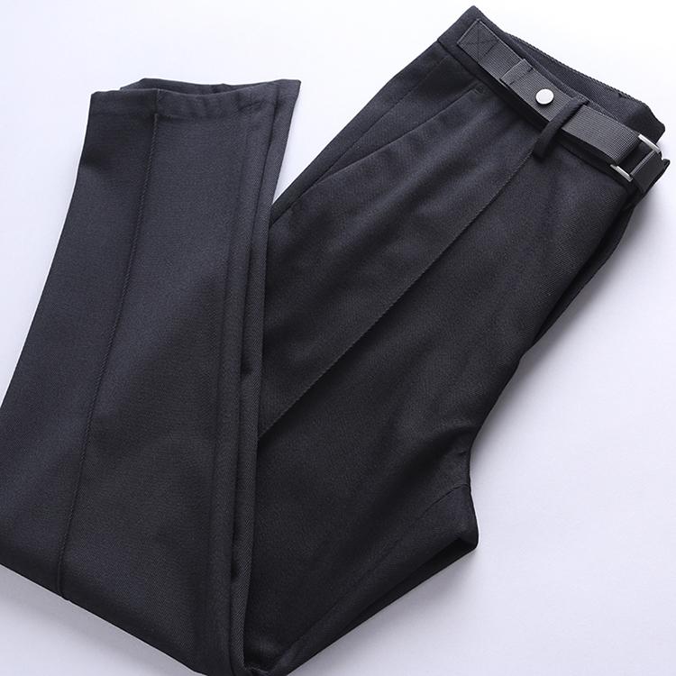 Quý ông Paris DU nhà set vải len chéo cao cấp Quần nam đa năng quần âu DBL865 - Quần mỏng