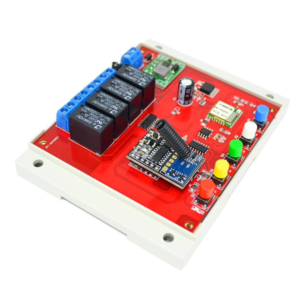 Usd 2718 Wifi Smart Switch 5 28v Mobile Phone App Remote Controlled Appliance Circuit Color Classification 4 Way Control