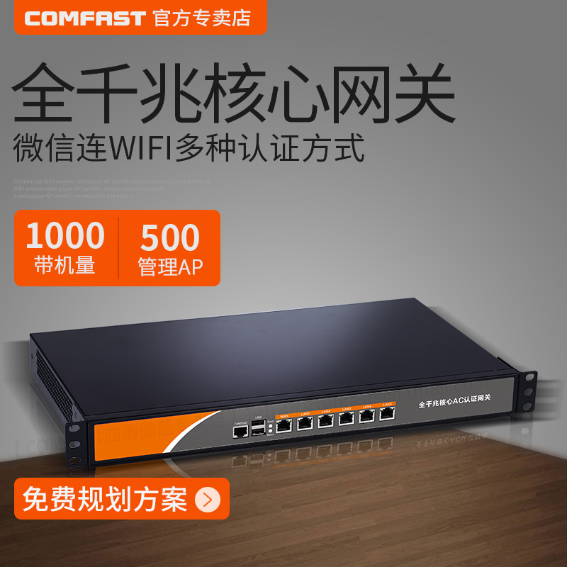 USD 718.57] Gigabit enterprise class wired router multi WAN core ...