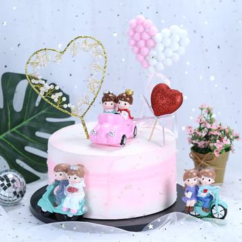 Birthday Cake Decoration net red car bike motorcycle lovers love cake inserted card accessories