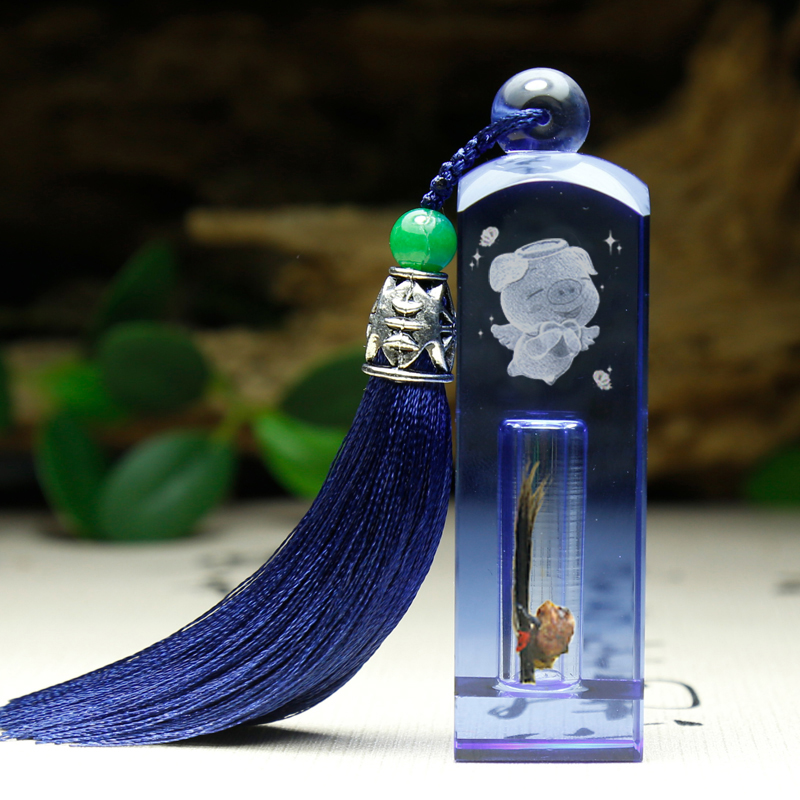 Full Color Blue + Tassel Seal   Deep