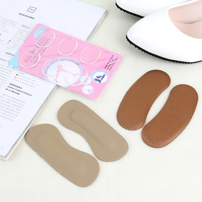 9.9元包邮后跟脚加厚半码垫不跟帖后跟贴鞋垫鞋跟防磨脚贴高跟贴
