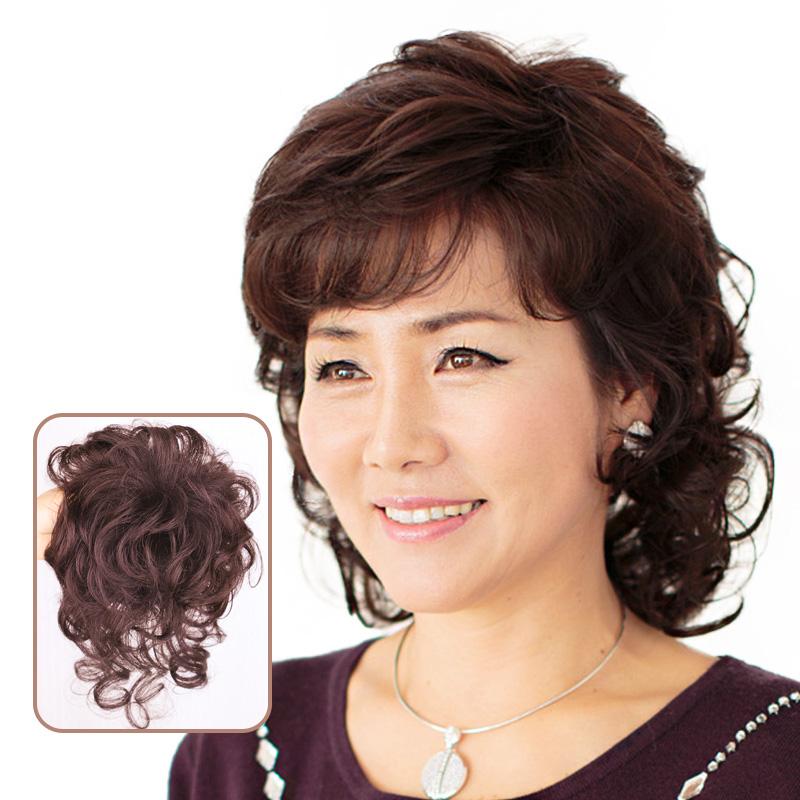 Usd 107 24 Hair Top Hair Send Mother Hair Cover White Hair Volume