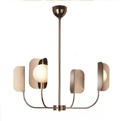 Postmodern minimalist fashion creative American chandelier designer model room bedroom living room villa branch lamp