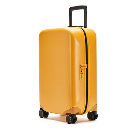 90分行李箱静音万向轮20寸商务登机箱男学生灰色密码拉杆箱 第89张