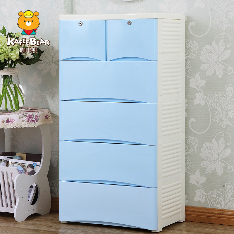 Plastic Cabinets usd 68.27] children cabinets thickened plastic cabinet and drawer