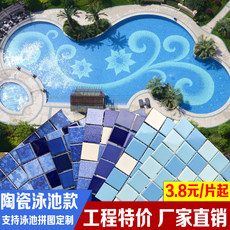 Swimming pool mosaic...