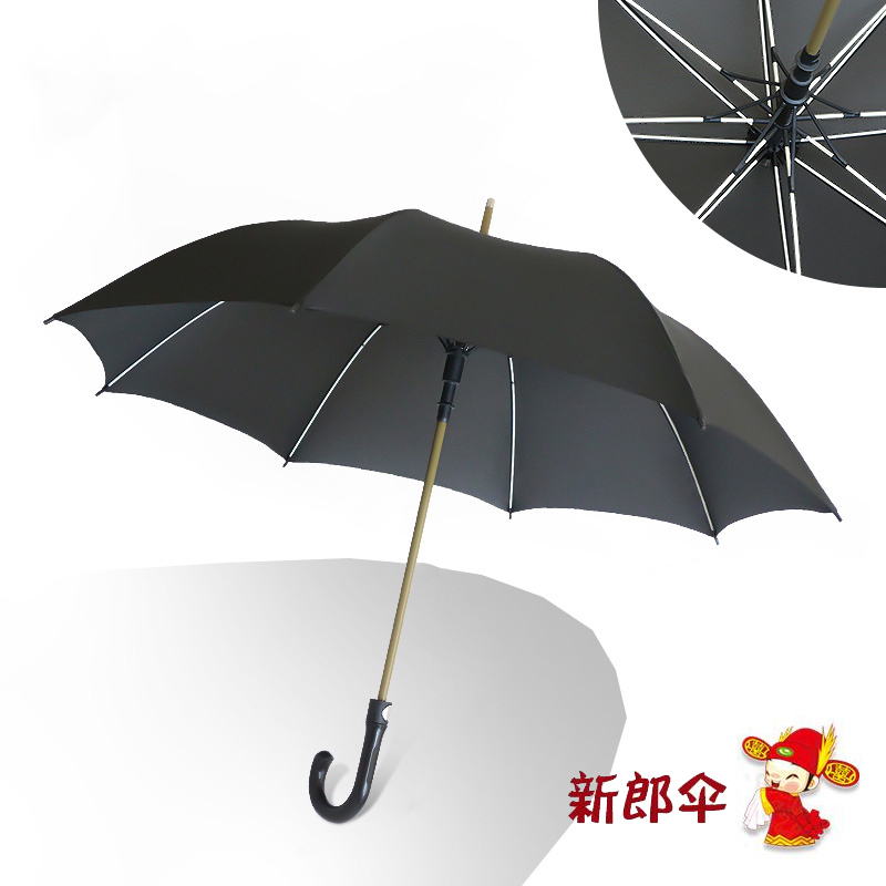 8 Bone Groom Umbrella (glass Umbrella Stand)