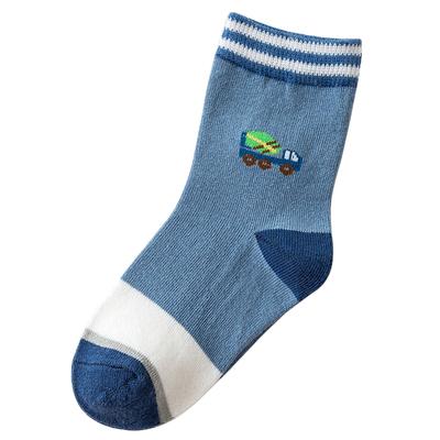 儿童袜子纯棉秋冬季男女童中筒袜加厚小孩婴儿宝宝0-1-3岁579-12