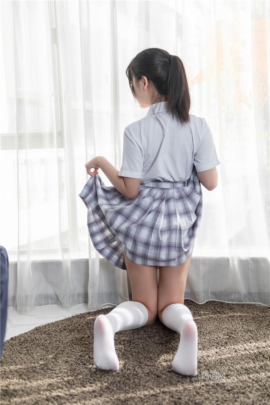 喵糖映画 JKL 裙美JK制服合集 美女写真 热图3