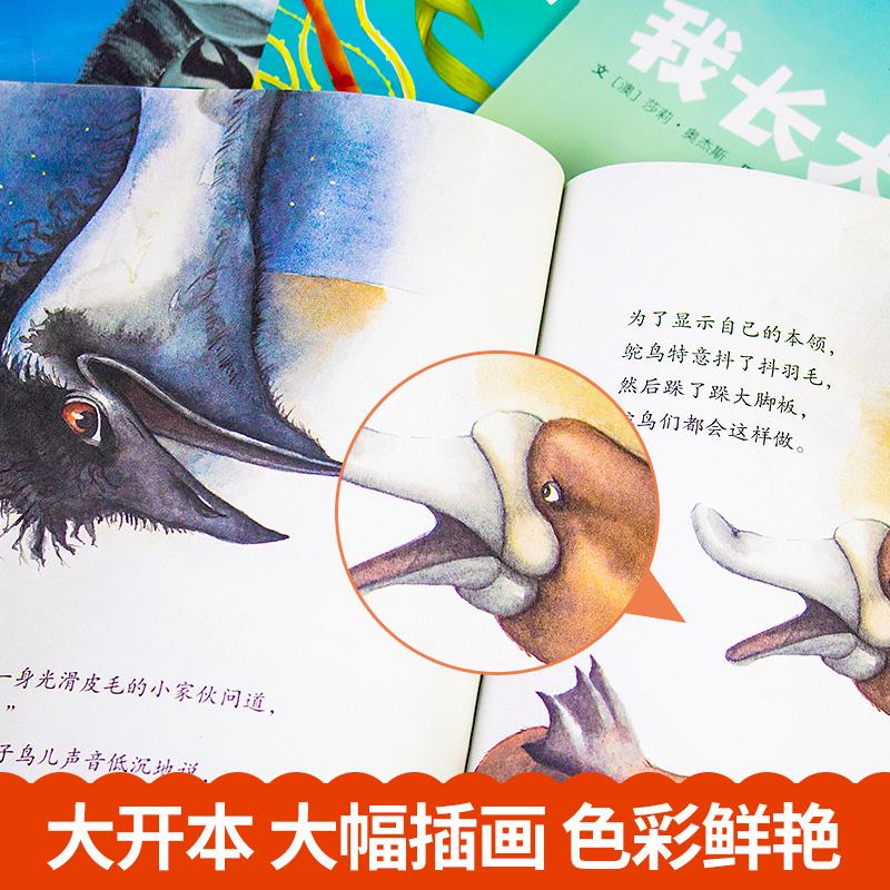 国际获奖绘本8册 经典儿童绘本3-6岁幼儿故事书幼儿园大班图书宝宝早教书籍