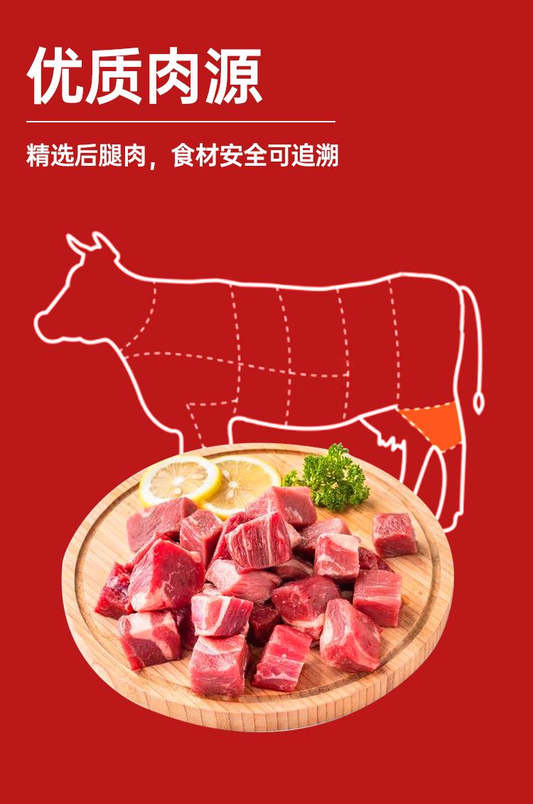 军转民产品 北戴河 红烧牛肉罐头 178g*4罐 图8