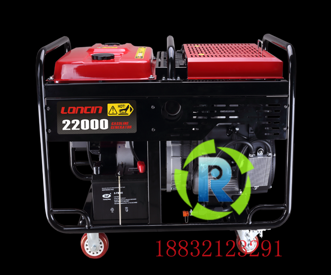 Loncin 15kW gasoline generator set Loncin LC22000S three-phase