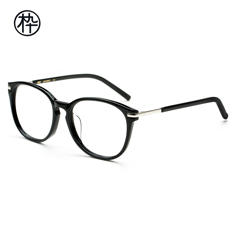 57046df478 MUJOSH wooden ninety jm1000021 men and women with the same paragraph w5175  retro glasses glasses frame