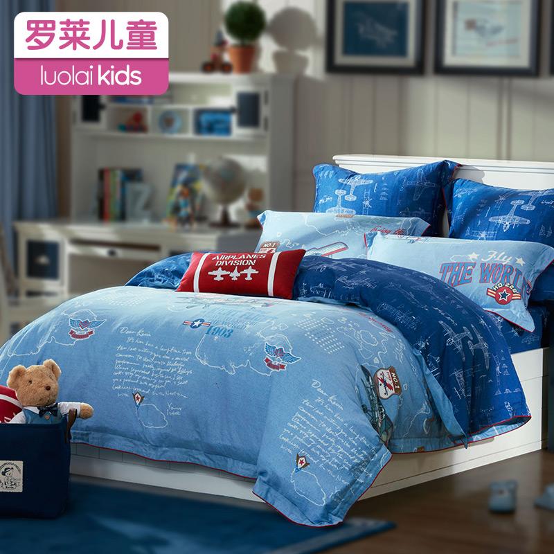 Ло сорняки домой спин ребенок хлопок четыре части детская кроватка использование товары мужские здоровье штук хлопок через одеяло лист