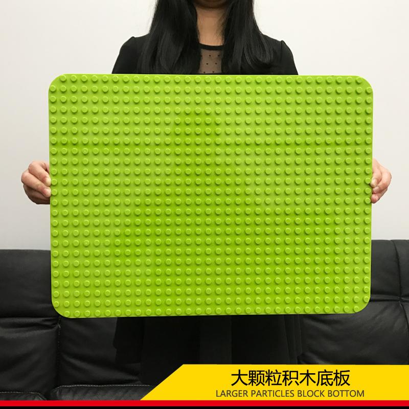 兼容legao大颗粒底板积木拼装通用建构拼插小颗粒底板儿童玩具墙