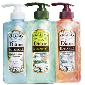 黛丝恩Moist Diane日本植萃无硅油留香蓬松洗发水官方旗舰店官网